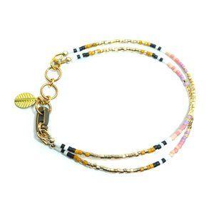 Double Golden Dune Bracelet